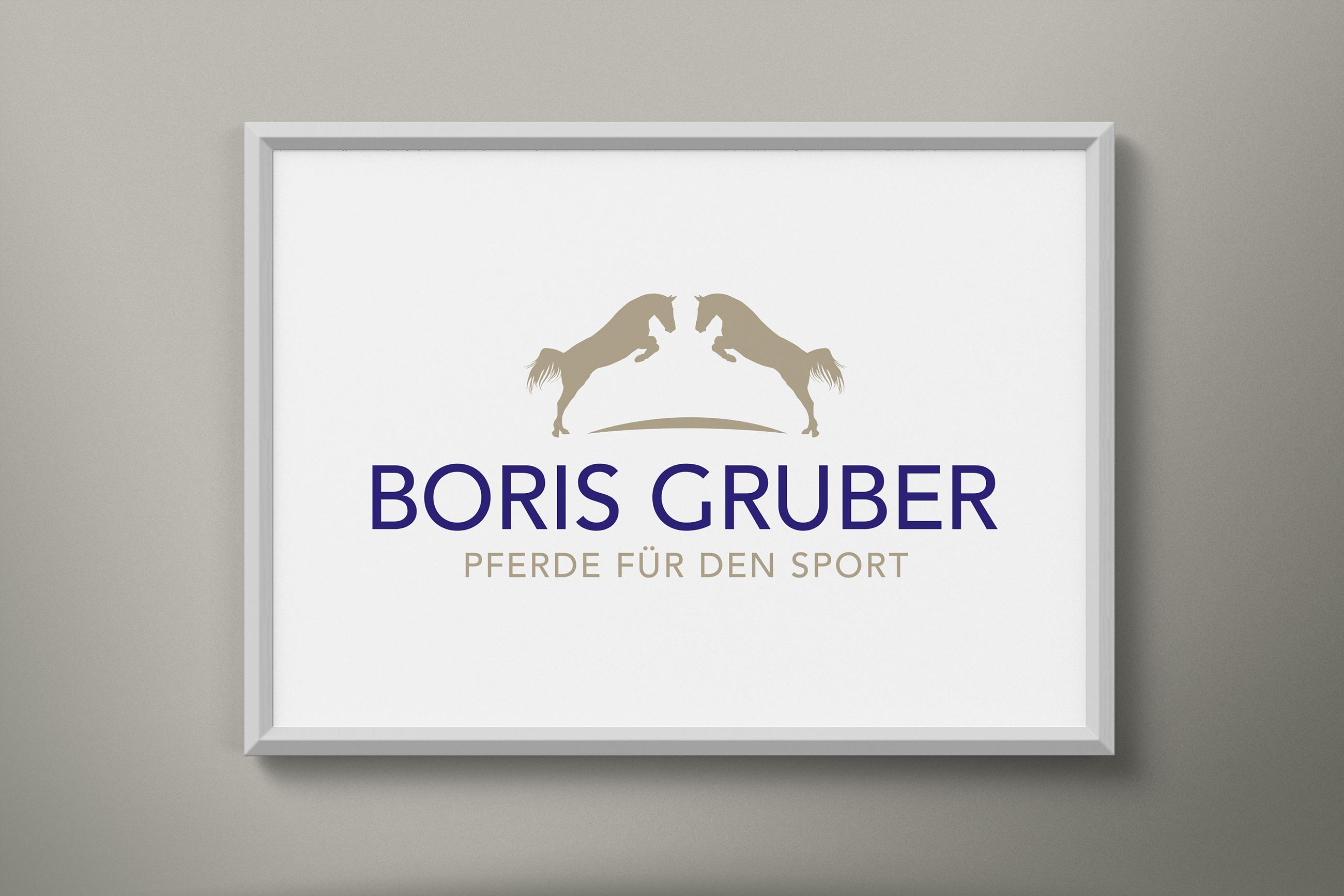 boris Gruber pferdezucht logo